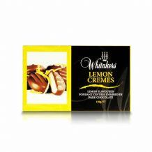 Whitakers Plain Chocolate Lemon Cremes 150g